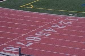 100m track